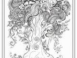 Spring Flowers Coloring Pages Pdf Adult Colouring In Pdf Tree Dragonfly Henna Zen Mandalas