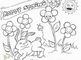 Spring Printable Coloring Pages Happy Spring Coloring Pages Place Pinterest