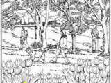 Spring Scene Coloring Pages 640 Best Dover Samples Colouring Pages Images On Pinterest