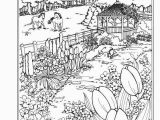 Spring Scene Coloring Pages Pin by Lillian at On Tattoo S Pinterest