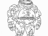 Spring Trap Coloring Page Fnaf Coloring Book Pages