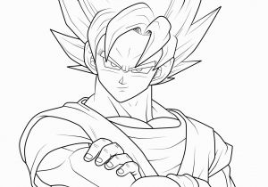 Ssj2 Goku Coloring Pages Dragon Ball Coloring Pages Best Coloring Pages for Kids