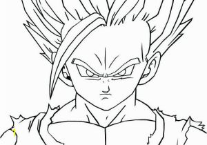 Ssj2 Goku Coloring Pages Dragon Ball Z Coloring Pages Free Printable