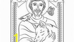 St Francis Of assisi Coloring Page 50 Best Free Catholic Downloads Images