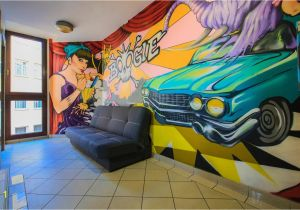 St James Park Wall Mural Glow Hostel Polen Breslau Booking