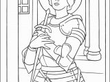 St Joan Of Arc Coloring Page Saint Joan Of Arc Coloring Page thecatholickid