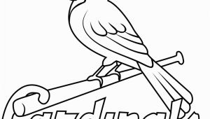 St Louis Cardinals Printable Coloring Pages St Louis Cardinals Logo Coloring Page Free Mlb Coloring