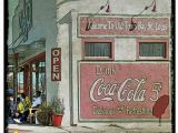 St Louis Cardinals Wall Mural Coke Sign Building Bay St Louis Ms Old Building Mural Ms Gulf Coast Bay St Louis Art Coastal Art Old town Bay St Louis Korpita