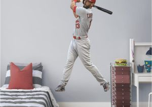 St Louis Cardinals Wall Mural Matt Carpenter Life Size Ficially Licensed Mlb Removable Wall Decal
