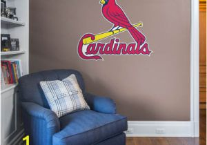 St Louis Cardinals Wall Mural St Louis Cardinals Personalized Name Giant Mlb Transfer