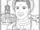 St Martin De Porres Coloring Page Saint Martin De Porres Coloring Pages