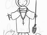St Martin De Porres Coloring Page St Martin De Porres Coloring Page Sheet Liturgical Year