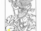 St Michael Coloring Page 196 Best Saint Michael Protect Us Images