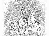 St Nicholas Coloring Page Kneeling Santa Coloring Page Christmas Tree Saint Nicholas Christ Child Baby Jesus Santa Claus Lamb Catholic Christian