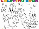 St Nicholas Coloring Page Saint Nicholas Devil Stock Illustrations – 116 Saint