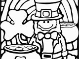 St Patrick S Day Coloring Pages Rainbows and Pop Up Books with Images