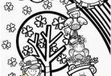 St Patrick S Day Leprechaun Coloring Page 112 Best St Patricks Coloring Pages Images On Pinterest