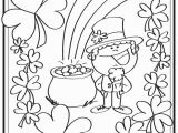St Patrick S Day Leprechaun Coloring Page St Patricks Day Free Printables Printable St Patrick Day Coloring