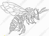 Stag Beetle Coloring Page Bee Honeybee 3 Coloring Pages Animal Coloring Book Pages