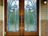 Stained Glass Wall Mural Door Wall Sticker Modern Stained Glass Window Self