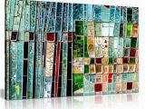 Stained Glass Wall Murals Amazon Abstract Colourful Stained Window Canvas Wall