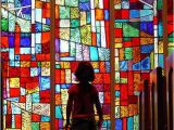 Stained Glass Wall Murals Colorful Silence