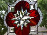 Stained Glass Wall Murals Cullum Design Burleson Beveled Star Delphi Artist Gallery