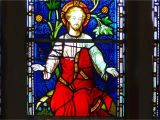 Stained Glass Wall Murals Religious Stained Glass Window Hd Wallpaper