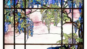 Stained Glass Wall Murals Tiffany Stained Glass Panel View Of Oyster Bay