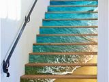 Stair Riser Murals 3d Beach Shell Stairs Risers Decoration Mural Vinyl Decal