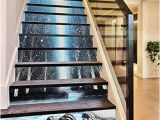 Stair Riser Murals 3d Lake forest Painting 671 Stair Risers Decoration Mural