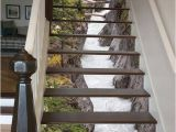Stair Riser Murals 3d Maligne River Stair 66 Risers Staircase Stairway Stairs Risers