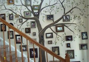 Staircase Wall Mural Ideas Diy Staircase Family Tree Perfect for Making A House Your