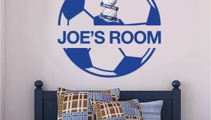 Stamford Bridge Wall Mural Birmingham City F C Ball Design & Personalised Name Wall