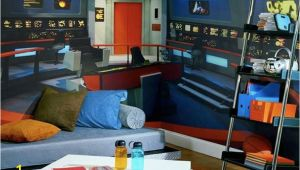 Star Trek Wall Mural Bridge Star Trek Mural Transforms Any Room Into Nerd Womb