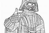 Star Wars Adult Coloring Pages Darth Vader Star Wars Coloring Page Adult Coloring by Paperbro