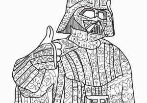 Star Wars Adult Coloring Pages Darth Vader Star Wars Coloring Page Adult Coloring by Paperbro