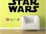Star Wars Bedroom Wall Murals Huge Star Wars Logo Kid Room Decor Vinyl Wall Art Decal