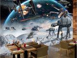 Star Wars Murals Wallpaper Nach 3d Foto Tapete Wandbild Star Wars Große Wandbilder Wand Malerei