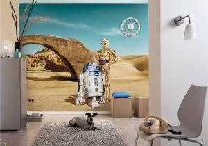 "Star Wars Photo Wall Mural Mural ""star Wars Lost Droids"" From Komar"