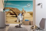 "Star Wars Room Murals Fototapete ""star Wars Lost Droids"" Von Komar"