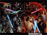 Star Wars Saga Wall Mural 50 ] Star Wars Saga Wallpaper On Wallpapersafari