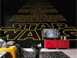 Star Wars Saga Wall Mural Star Wars Intro by Brewers 8 487 Geek Home