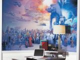 Star Wars Saga Wall Mural Star Wars Saga Chair Rail Decal Set Products