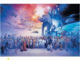 Star Wars Saga Wall Mural Trends International Unframed Poster Prints Star Wars Galaxy