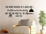 Star Wars Wall Mural Art Decal Amazon Two Roads Diverged In A Wood Robert Frost