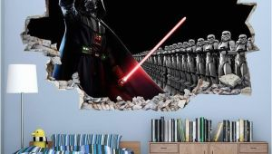 Star Wars Wall Mural Art Decal Cool Star Wars Boys Bedroom Decal Vinyl Wall Sticker Q046