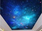 Starry Night Sky Murals 3d Wallpaper Painting Night Sky Ceiling Wall Murals Living Room