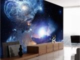 Starry Night Wall Mural Shinehome Starry Night Space Star Planet Wallpaper Murals Roll for 3d Walls Wallpapers for 3 D Living Room Bedroom Wall Paper
