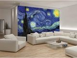 Starry Night Wall Mural Van Gogh Starry Night Wallpaper Mural